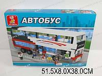 """Кон-р """"Автобус"""" 741 дет., в кор. 51x8x38 /4/(M38-B0335R)"""