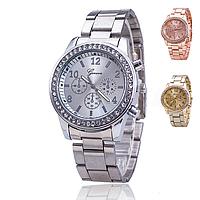 Женские наручные стальные часы GENEVA, фото 1