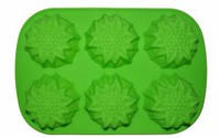 Форма силиконовая для мыла Подсолнух на планшете