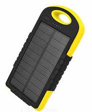 УМБ (Power Bank)  А-15 35000 mAh Турист Солнечная батарея+фонарь , фото 2
