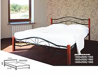 Ліжко Мелані Люкс Вуд