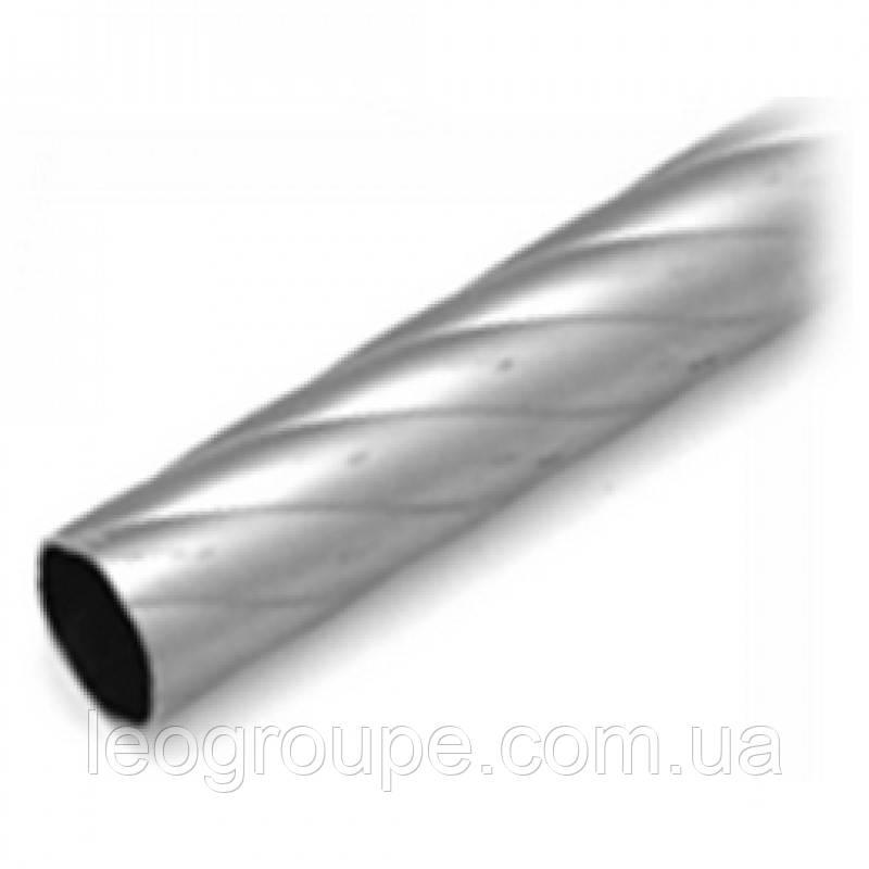 Труба крученая 16мм сатин -2м