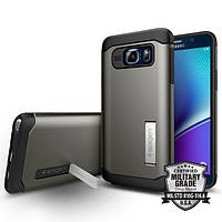 Чехол SGP Spigen Slim Armor для Samsung Galaxy Note 5 N920 Smooth Black