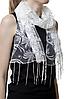 Свадебный шарф бежевый астра