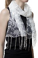 Свадебный шарф бежевый астра, фото 1