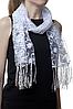 Свадебный шарф тюльпанчик