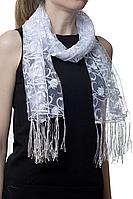 Свадебный шарф тюльпанчик, фото 1