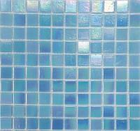 Перламутровая мозаика голубая Vivacer R02
