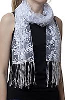 Свадебный шарф бутончик