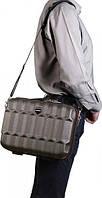 Стильный мужской дорожный бьюти-кейс Vip Collection Barbados14 Antracite BBS.14.grey, темно-серый