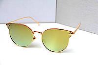 Очки женские от солнца Dior Luxio салатовые, магазин очков