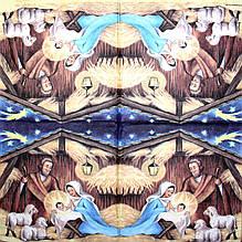Декупажная салфетка Рождество 1296