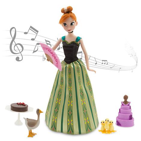 Кукла Анна Дисней холодное сердце поющая Аnna Deluxe Singing Doll Set - 11''