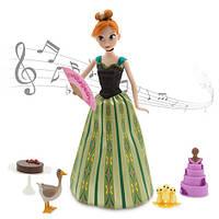 Кукла Анна Дисней холодное сердце поющая Аnna Deluxe Singing Doll Set - 11'', фото 1