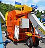 Очиститель вороха самоходный-зернометатель ОВС-80М