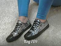 Кеды черные в стиле Converse, фото 1