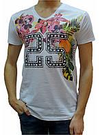 Мужская футболка с рисунком №2754