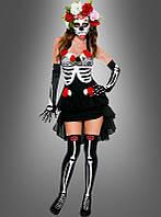 Платье скелет