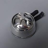 Калауд лотос для кальяна Silver глянцевый на 2 ручки