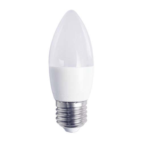 Светодиодная лампа LB-737 C37 свеча 6W 520Lm  E27 4000K