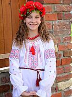 """Вышиванка крестиком для девочки """"Украиночка-2"""" на рост 86-116 см"""
