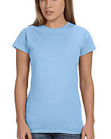 Футболка Gildan® Softstyle® Ladies Tee Light Blue