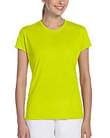 Футболка Gildan® Performance® Ladies Tee Safety Green