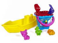 Лодочка 01-116 с песочным набором М Kinder Way