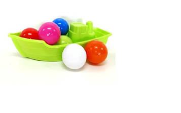 Лодочка 01-117 +6 шариков Kinder Way