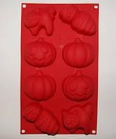 Форма силиконовая для мыла  Хелуин на планшете