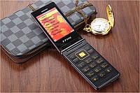F-Fook F977F duos Sim телефон раскладной под самсунг на 2 сим-карты