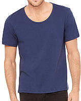 Футболка Bella + Canvas Men's Wide Neck Tee Navy
