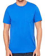 Футболка Bella + Canvas Men's Jersey Short Sleeve Pocket Tee True Royal
