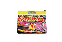 """Мел """"Люкс-Колор"""" цветной квадратный (9 цв.) (70x15x10 мм.)"""