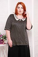 Блуза женская в горошек