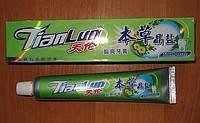 Зубная паста на основе натуральных трав и жидкого турмалина