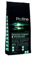 Profine Senior Turkey 3 кг, индейка - сухой корм для собак преклонного возраста всех пород