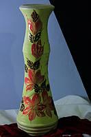 Керамическая ваза Нова,цветной акрил