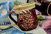 Чашка керамическая Лоза, глазуь