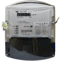 Электрический счетчик трёхфазный однотарифный НИК 2301 АК1В 3*220/380В (5-10А)