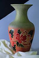 Керамическая ваза Титаник, красная