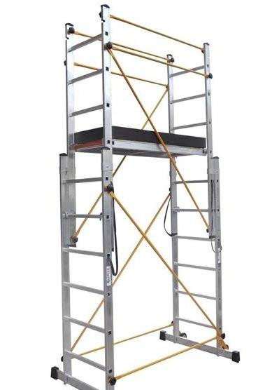 Подмости многофункциональные VIRASTAR 2x7 ступеней