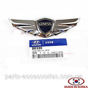 Эмблема значок на багажник Hyundai Genesis седан 2009-14 новый оригинал