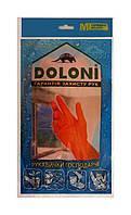 Перчатки хозяйственные латексные Doloni универсальные (Арт. 4545) размер M - 1 пара.