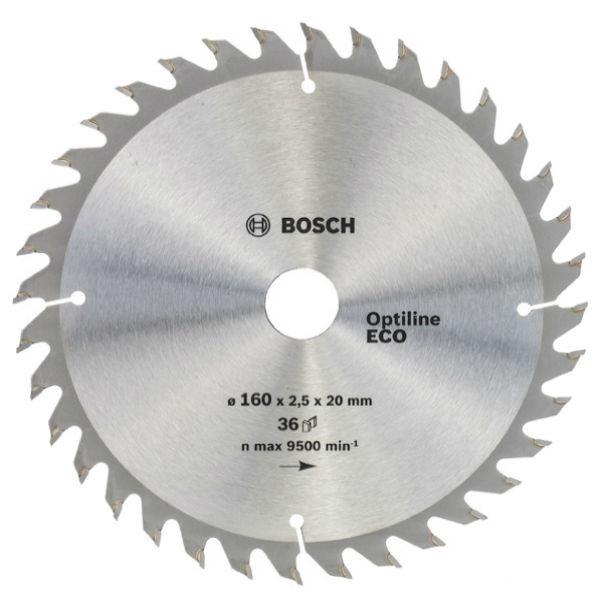 Циркулярный диск Bosch 160x20/16 36 Optiline ECO