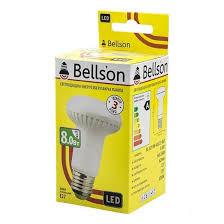 """Лампа LED """"Spot"""" E27/8W-2700 (R63)"""