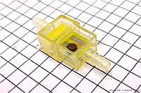 Фильтр топливный с магнитом цветной прямоугольный (элемент - сетка)