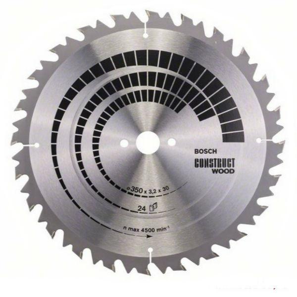 Циркулярный диск Bosch 350x30 24 Construct