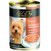 Edel Dog Индейка и печень  400 гр