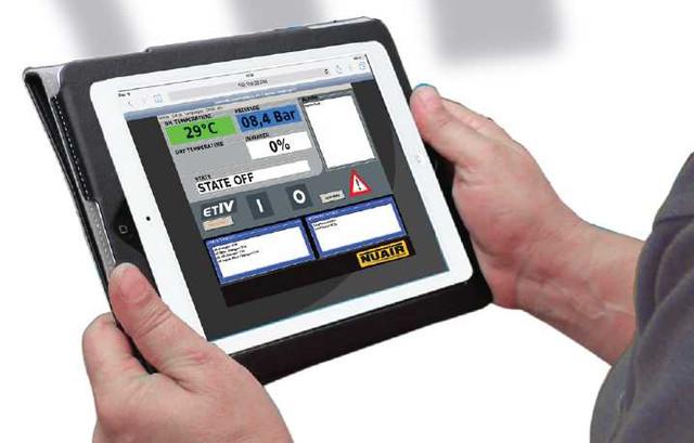 Удаленное управление компрессором с сервисом SMS